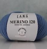 LangYarns Merino 120 - 021 Lucht Blauw