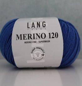 LangYarns Merino 120 - 031 Blauw