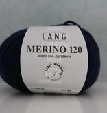 LangYarns Merino 120 - 035 Marine