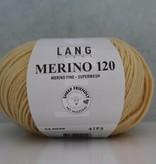 LangYarns Merino 120 - 049 Zacht Geel