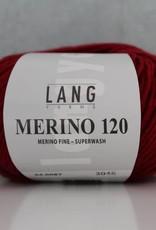 LangYarns Merino 120 - 087 Robijnrood