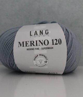 LangYarns Merino 120 - 123 Pelsgrijs