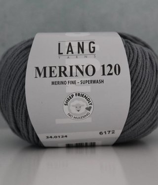 LangYarns Merino 120 - 124 Muisgrijs