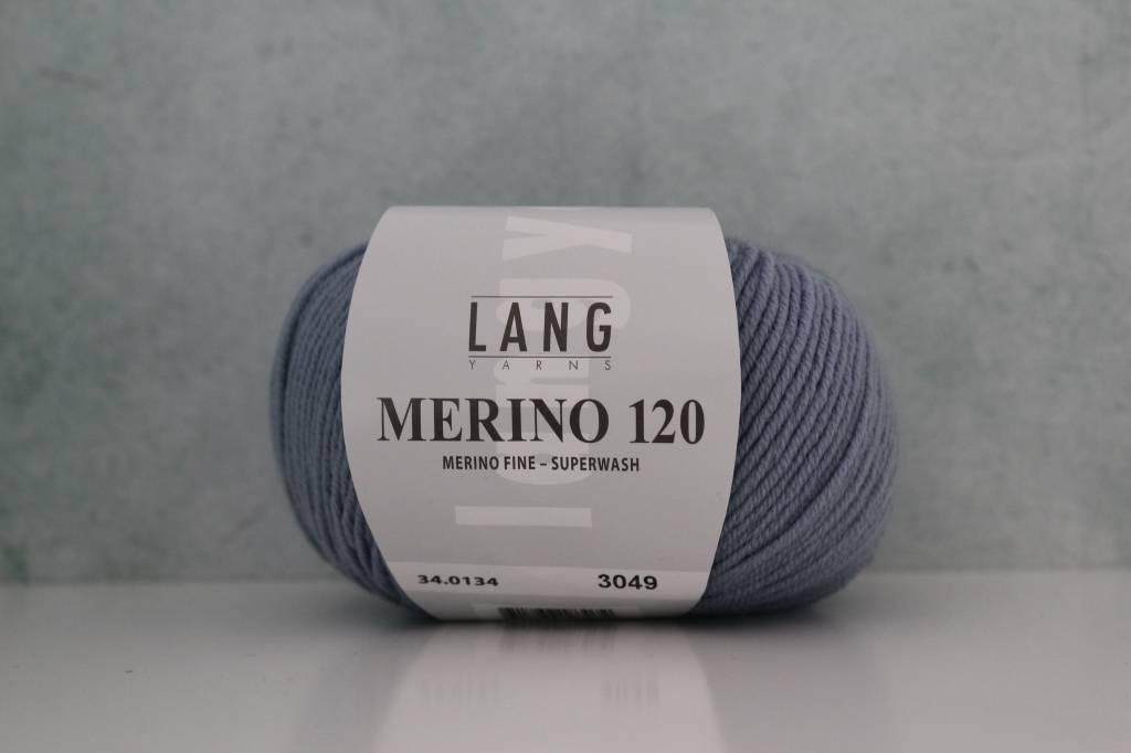 LangYarns Merino 120 - 134 Blauwgrijs