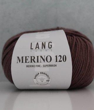 LangYarns Merino 120 - 148 Antiek Paars