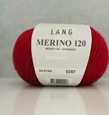 LangYarns Merino 120 - 162 Karmijnrood
