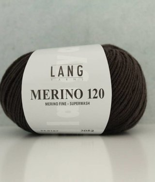LangYarns Merino 120 - 167 Sepiabruin