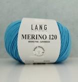 LangYarns Merino 120 - 178 Lichtblauw