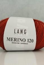 LangYarns Merino 120 - 187 Koperbruin