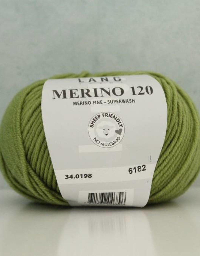 LangYarns Merino 120 - 198 Geelgroen