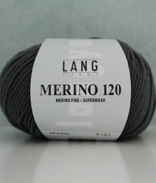 LangYarns Merino 120 - 203 Ombergrijs