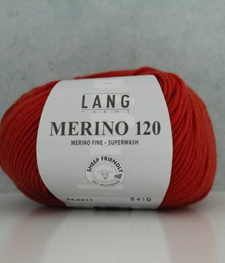 LangYarns Merino 120 - 211 Roodoranje