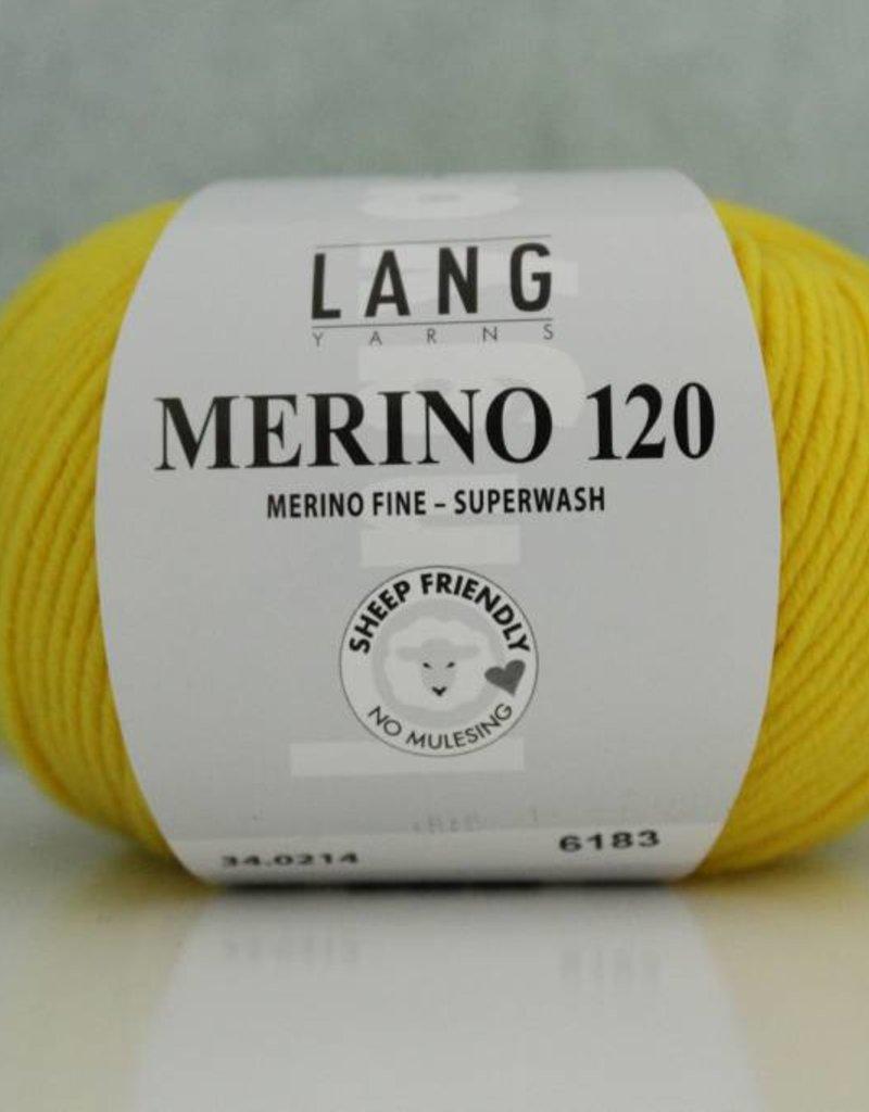 LangYarns Merino 120 - 214 Kanariegeel