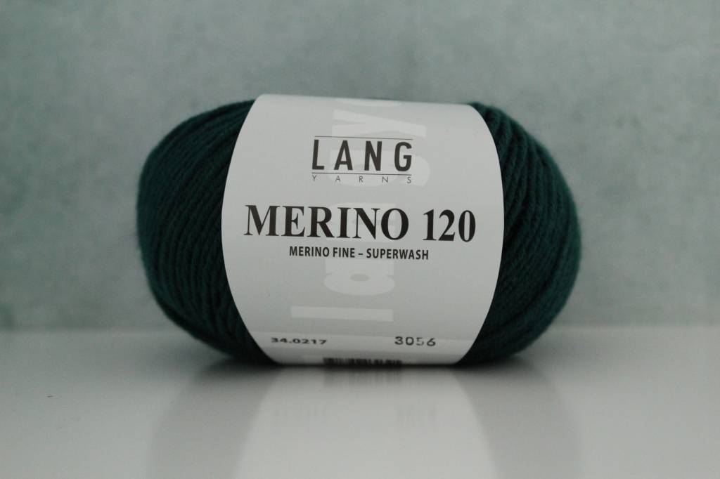 LangYarns Merino 120 - 217 Mosgroen