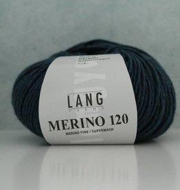 LangYarns Merino 120 - 233 Staalblauw