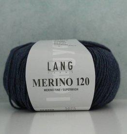 LangYarns Merino 120 - 234 Saffierblauw