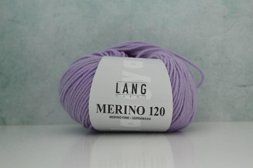 LangYarns Merino 120 - 245 Lavendel