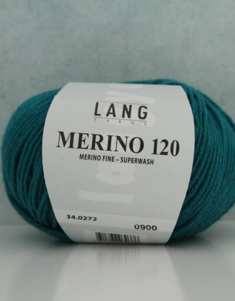 LangYarns Merino 120 - 272 Zeegroen