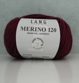 LangYarns Merino 120 - 280 Bordeauxpaars