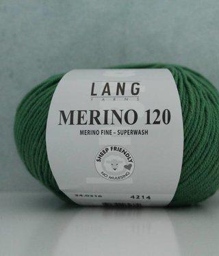 LangYarns Merino 120 - 316 Zuiver Groen