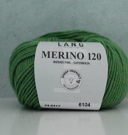 LangYarns Merino 120 - 317 Briljantgroen