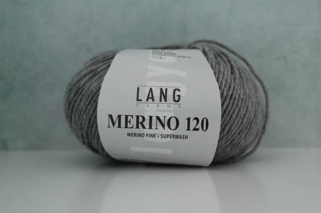 LangYarns Merino 120 - 324 Bleekgrijs