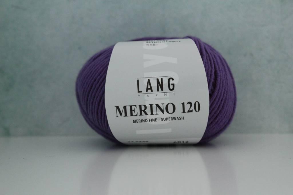 LangYarns Merino 120 - 346 Signaalviolet