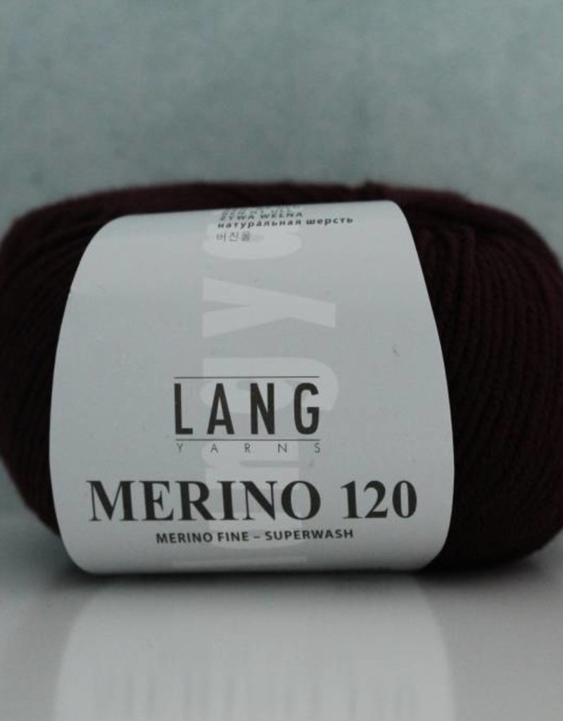 LangYarns Merino 120 - 364 Aubergine