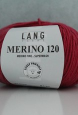 LangYarns Merino 120 - 365 Parelmoer Donkerroze