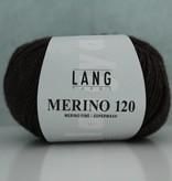 LangYarns Merino 120 - 368 Donker Bruin