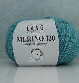LangYarns Merino 120 - 372 Waterblauw