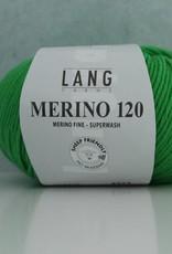 LangYarns Merino 120 - 416 Gifgroen