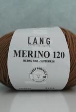 LangYarns Merino 120 - 439 Karamelbruin