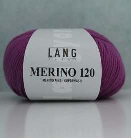 LangYarns Merino 120 - 466 Telemagenta