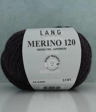 LangYarns Merino 120 - 480 Bruinpaars