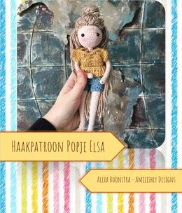Amilishly Designs Haakpatroon AMILISHLY Amigurumi - Popje Elsa