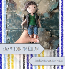 Amilishly Designs Haakpatroon AMILISHLY Amigurumi - Pop Killian
