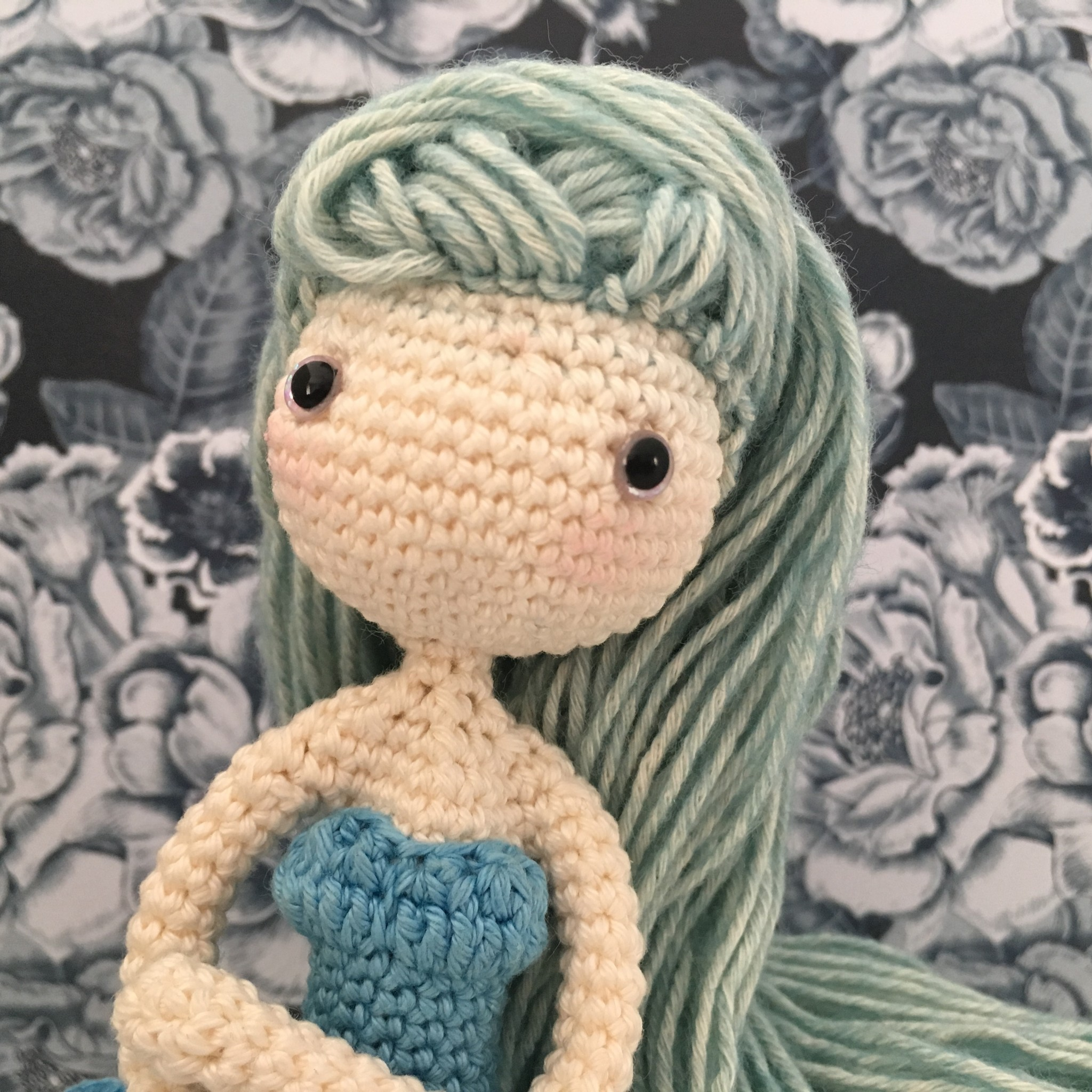 Amilishly Designs Haakpatroon AMILISHLY Amigurumi - IJsprinses Ysolde