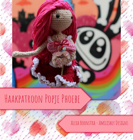 Amilishly Designs Haakpatroon AMILISHLY Amigurumi - Valentijnsfee Phoebe