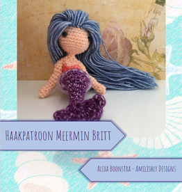 Amilishly Designs Haakpatroon AMILISHLY Amigurumi - Meermin Britt
