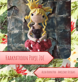 Amilishly Designs Haakpatroon AMILISHLY Amigurumi - Bosfee Zoë