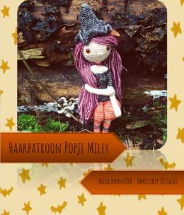 Amilishly Designs Haakpatroon AMILISHLY Amigurumi - Heksje Miley