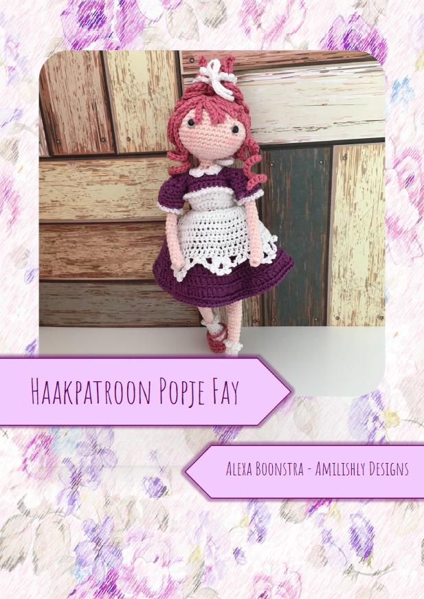 Amilishly Designs Haakpatroon AMILISHLY Amigurumi - Verpleegkundige Fay