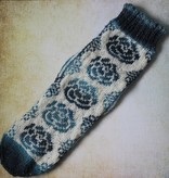 Bianca Boonstra Designs Breipakket Rozentegel sokken