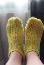 Bianca Boonstra Designs Blokje Vlaskaas Socks
