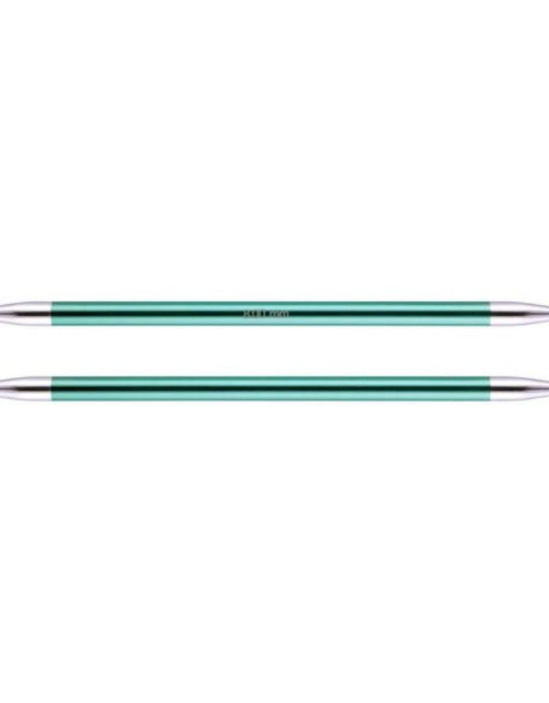 KnitPro Zing  20 cm Sokkennaalden - 8.0 mm