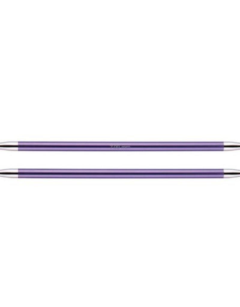 KnitPro Zing  20 cm Sokkennaalden - 7.0 mm