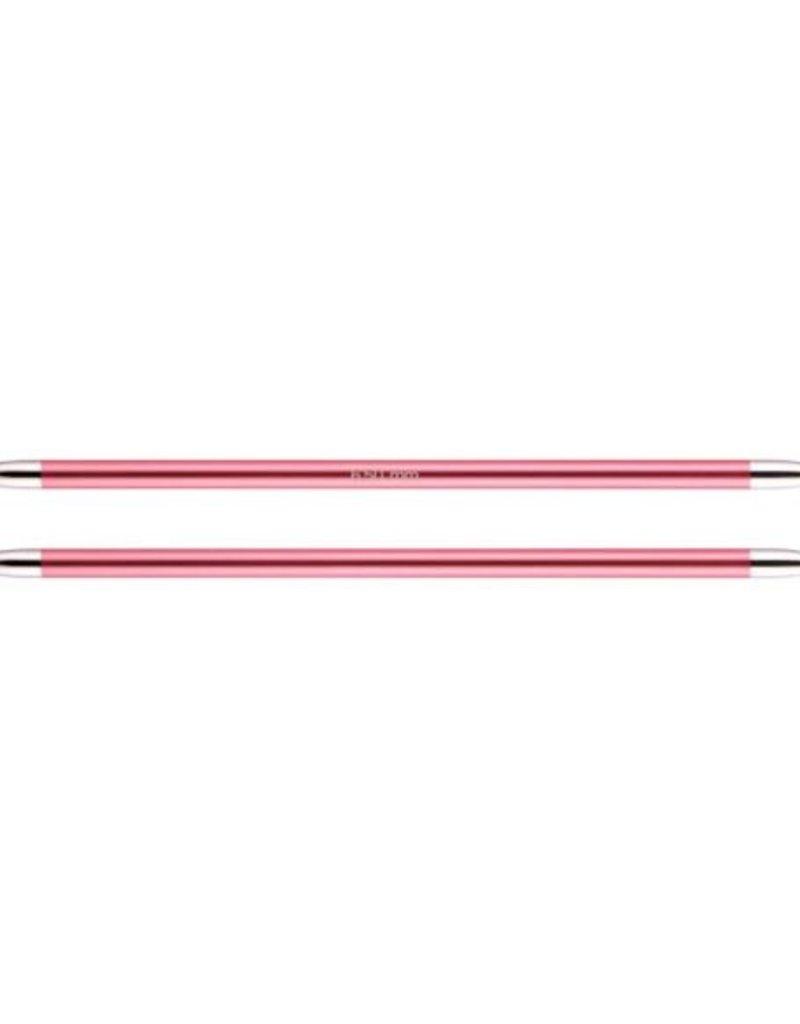 KnitPro Zing  20 cm Sokkennaalden - 6.5 mm