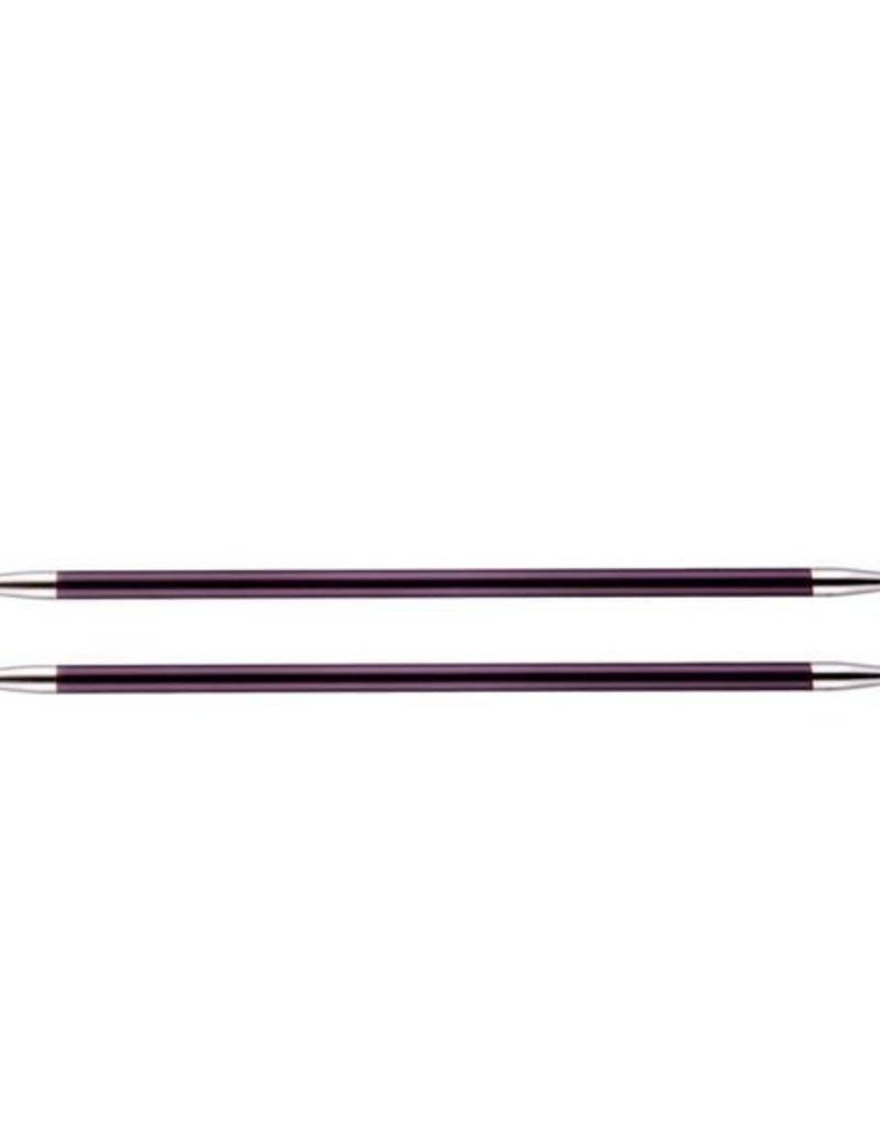 KnitPro Zing  20 cm Sokkennaalden - 6.0 mm
