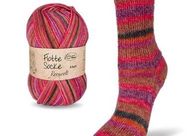 Flotte Socke 4 draads